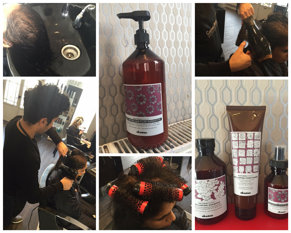 Carmelo Alessi Hairdressing Stony Stratford Davines Replumping Treatment