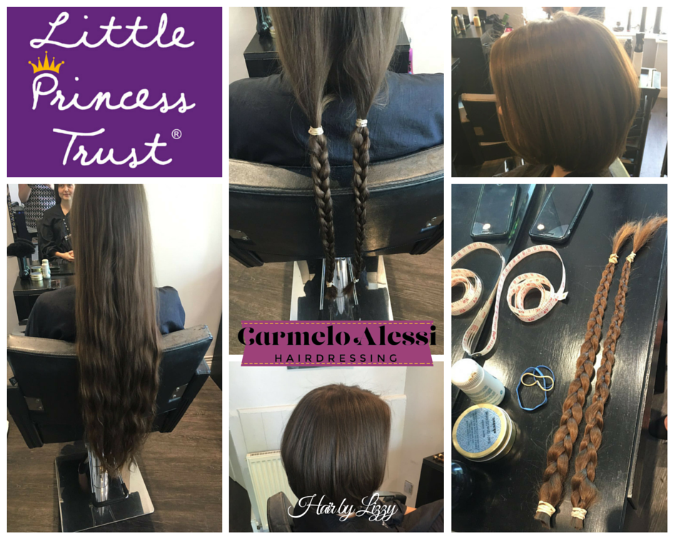 Little princess trust ca hair donate charity step by step